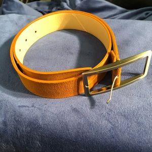Accessories - Brown suede like belt